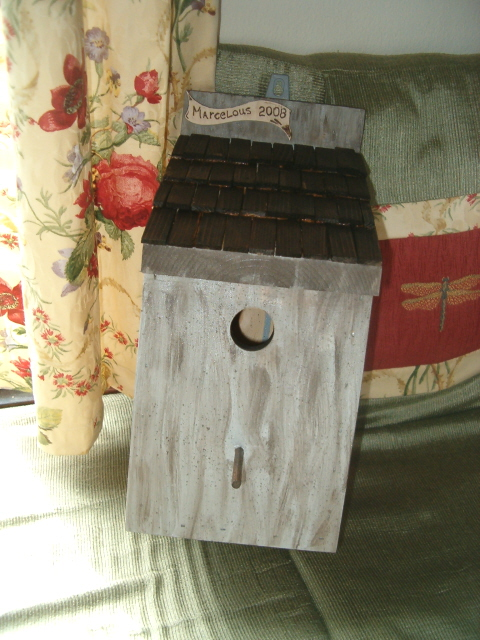 Marcelous bird house
